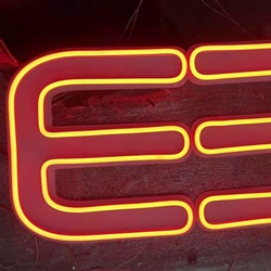 Customer advertising neon sign outdoor signage neon light letter