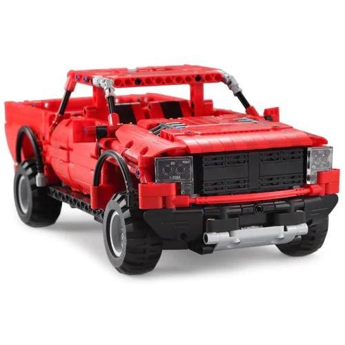 RCtown enfants assemblage blocs de construction électrique à distance course véhicule Buggy contrôle électronique camion Puzzle jouet