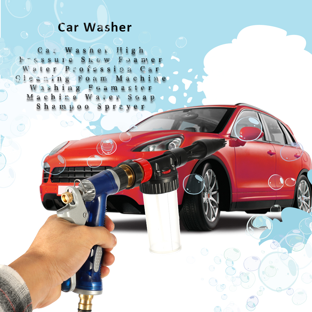 Auto Car Washer High Pressure Snow Foamer Water Car Cleaning Foam Machine Washing Foamaster Machine Water Soap Shampoo Sprayer(China)