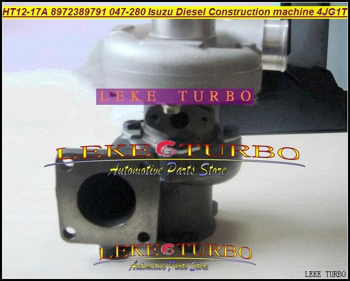 HT12-17A 047278 047-280 047280 8973186510 8-97238-979-1 Turbo Pour ISUZU Construction Machine Chariot Élévateur EET0007 4JG1T 4JG1 3.1L