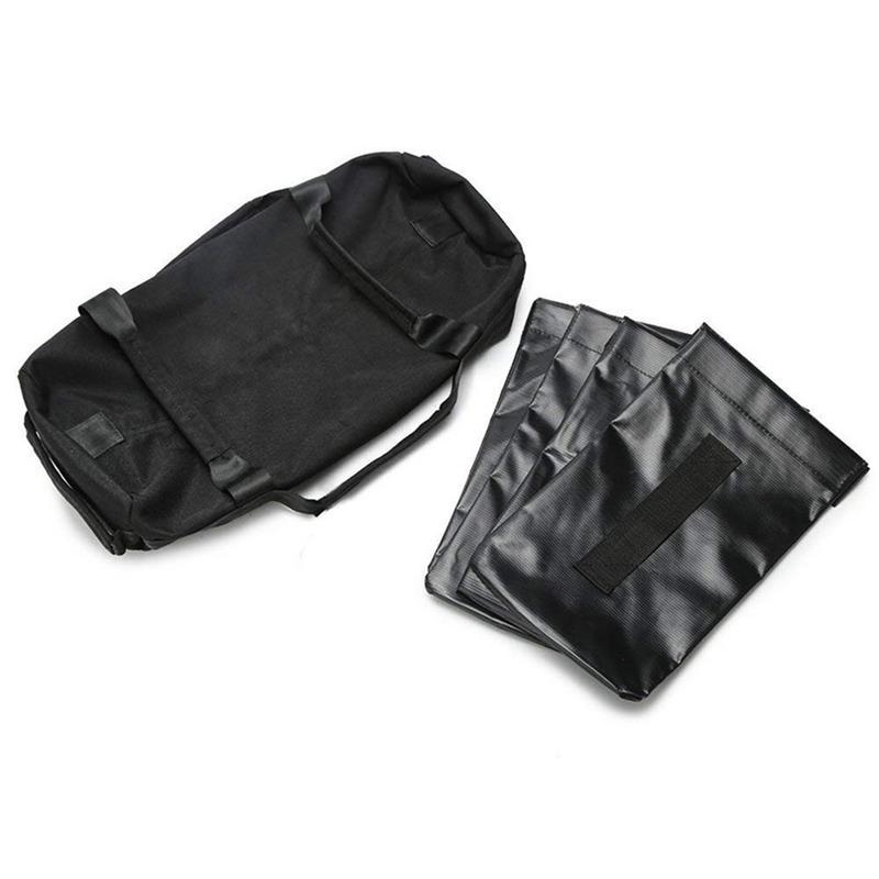 Weightlifting Sandbag Strength Bag Fitness Sand Including Inner Bag Exercise Power Type 5 Pcs/set Weightlifting Heavy Sand Bag Weight Lifting