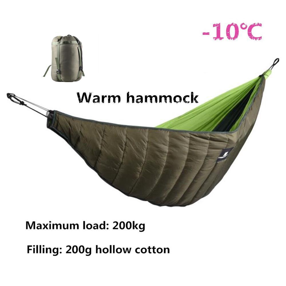 Mounchain Winter Warm Sleeping Bag Hammock Underquilt Sleeping Bag Warmer Under Quilt Blanket For Outdoor Camping Hiking