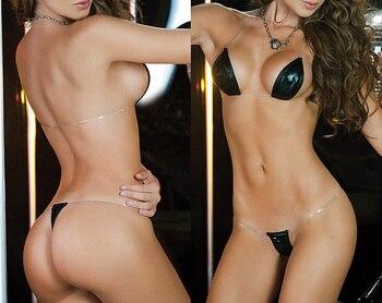 Sexy Women's Set Bikini Lingerie G-String Exotic Thong Lingerie Bikini Swimsuit Swimwear Underwear 5