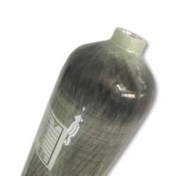 Карбоновый резервуар ACECARE 3L/мини-резервуар для подводного плавания HP 4500PSI, композитный газовый композитный контейнер pcp, меньше m18 * 1,5, EN12245, ...