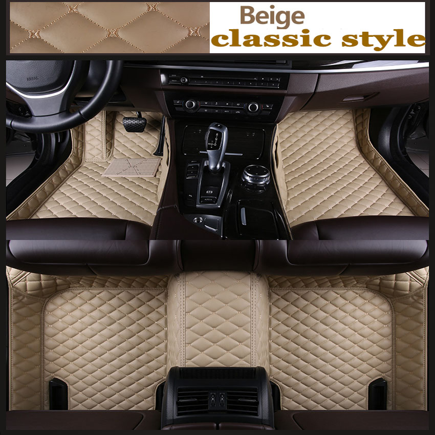 ZHAOYANHUA Personnalisé plancher de la voiture tapis pour Honda Fit jazz Ville Greiz Crosstour tyling tapis de plancher