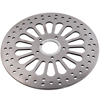 """Front Super Spock Brake Rotor for Harley Dyna 2000-2005 11.5"""" Polished SS Spoke M-RT-2100 Front right and left"""