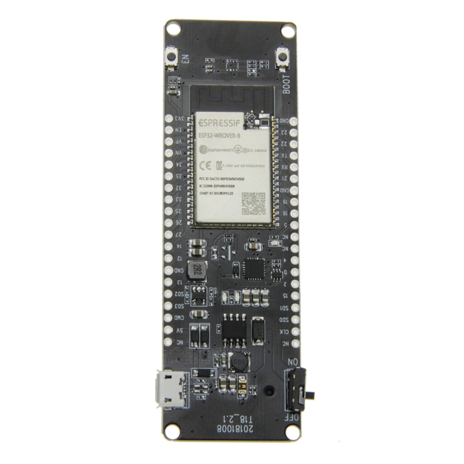 Ttgo T-Energy Esp32 8Mbyte Psram Esp32-Wrover-B Wifi & Bluetooth Module 18650 Battery Development Board