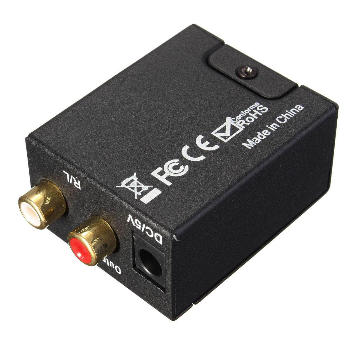 Tragbares Audio & Video Intellektuell Leory Digital Optical Coax Toslink Zu Analog Audio Konverter/koaxial-oder Toslink Digital Audio Signale Zu Analog L/ R Audio Krankheiten Zu Verhindern Und Zu Heilen