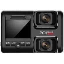 T692C 2.0 Inç LCD araç elektroniği Çift Kayıt Kaydedici 1080 P FHD Çift Lens gece görüş araba DVR Dash kamera Ile GPS + WiFi