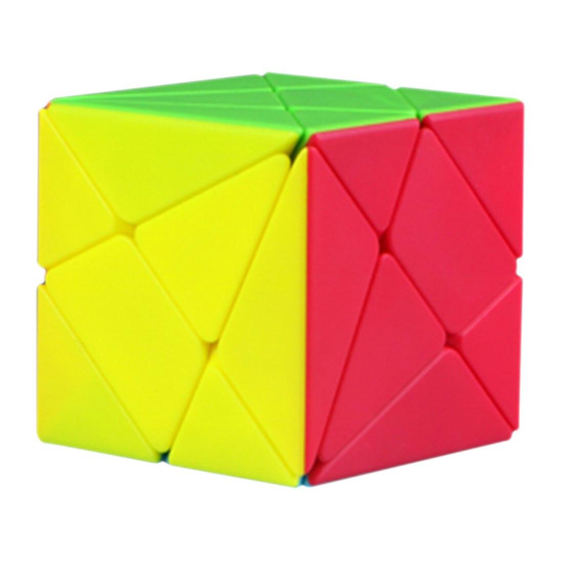 2019 Qiyi Axis Skewcube Cube Magic for Kid Adult Playing Birthday Present Gift- Colorful2019 Qiyi Axis Skewcube Cube Magic for Kid Adult Playing Birthday Present Gift- Colorful