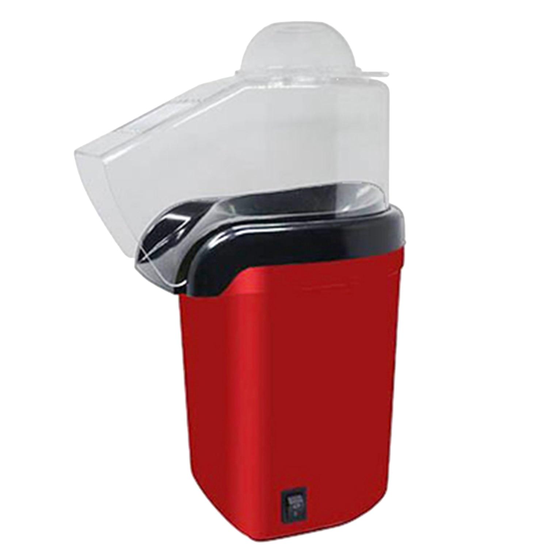 LICE 1200W 110V Mini Household Healthy Hot Air Oil-Free Popcorn Maker Machine Corn Popper For Home Kitchen