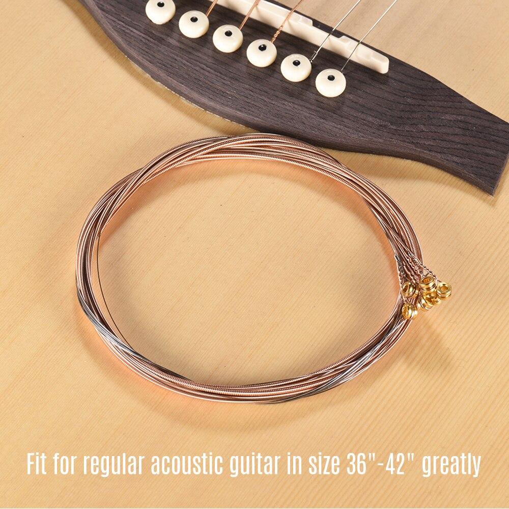 buy awr47 sl super light acoustic guitar strings high grade 6 pcs steel strings. Black Bedroom Furniture Sets. Home Design Ideas