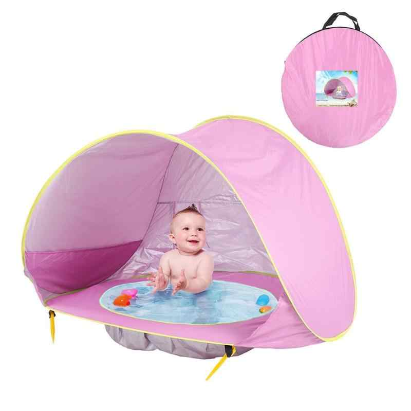 Baby Beach Tent Uv-protecting Sunshelter Small House Waterproof Pop Up Awning Tipi Portable Pool Tent toys for Children