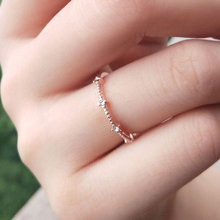 Simple Alloy Gold Engagement Rings for Women Silver Trend 4 Semi-precious Stones Jewelry Accessories Bague Homme