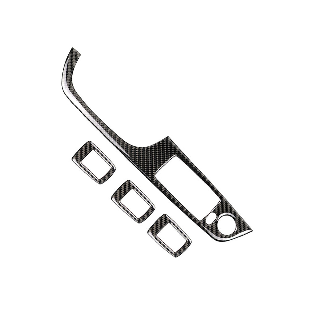 Carbon Fiber Window Lifter Switch Decorative Frame Cover