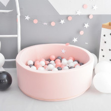 Baby Ocean Ball Pool Pit Fencing Manege Round Play Pool for Baby Play Ball Playground For Toddlers yard games Children's Tent(China)
