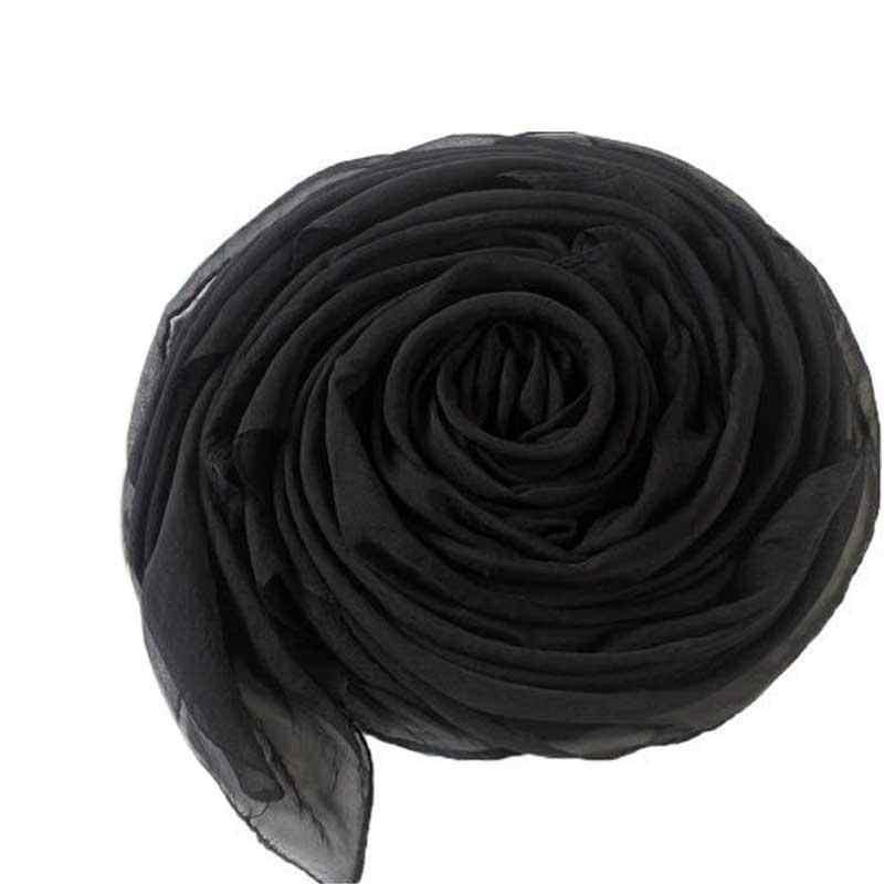 170 cm * 70 cm 2019 קיץ הדפסת משי צעיף גדול שיפון צעיף נשים Pareo החוף לחפות גלישת סרונג מוצק ארוך קייפ נקבה
