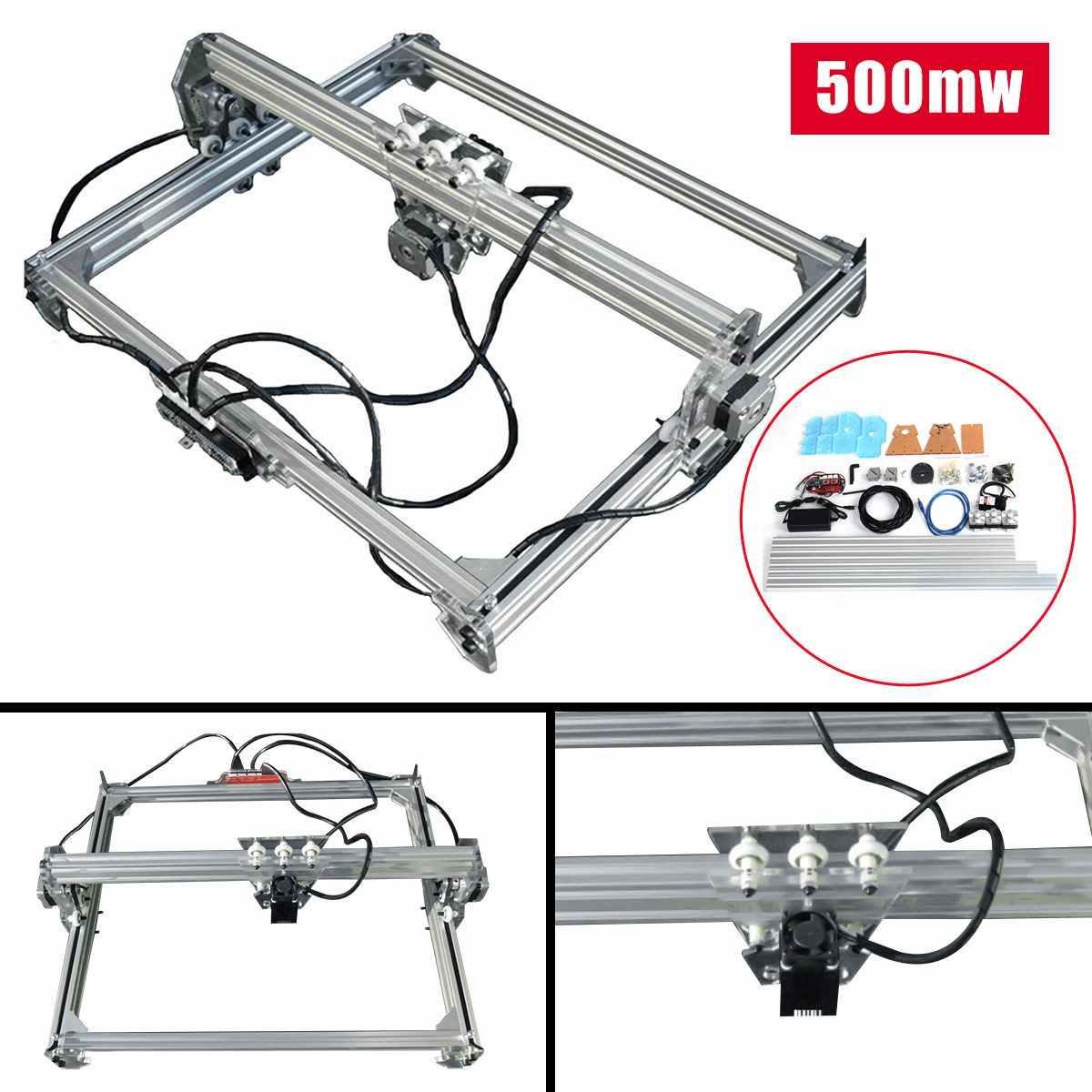 65X50 Cm DC 12V 500 M W Laser Laser Engraver Cutting DIY Desktop Mini Kayu Cutter/Printer menandai Printer LOGO Ukiran Mesin
