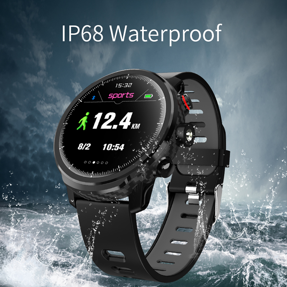 L5 Smart Watch Men Ip68 Waterproof Standby 100 Days Multiple Sports Mode Heart Rate Monitoring Weather Forecast Smartwatch clock
