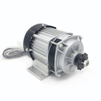 Electric Bicycle Motor 350W DC 48V Brushless Driver Engine Electric Centrifugal Pump Motor For Scooter Tricycle Three Wheels