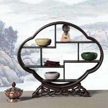 AUGKUN 1 шт., дверная рама из цельного дерева, материал, антикварная рамка для дисплея, витрина из красного дерева, полка, деревянные украшения с резьбой, для мебели, домашний декор