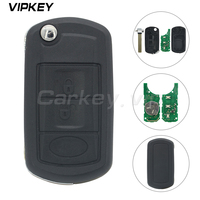 Remotekey For Land rover Lr4 for range rover Flip Remote Car Key 3 Button 434 Mhz Hu92 With Id44 Chip Smart Remote Car Key