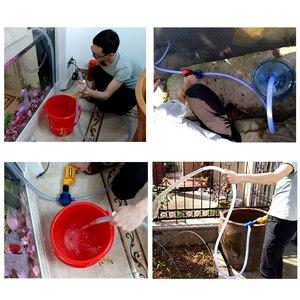 Image 4 - Pump Self priming Hand Drill Water Pumps for Garden Courtyard Zware Zelfaanzuigende Hand Elektrische Boor Waterpomp Centrifugaa
