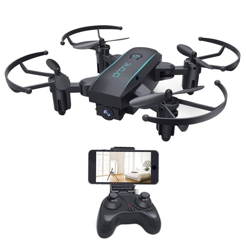 Offres spéciales IN1601 Mini Drone quadrirotor avec 2MP WIFI CAMÉRA Pliant RC Mini quadcopter Selfie Poche Drone Jouets Volants Pour enfants
