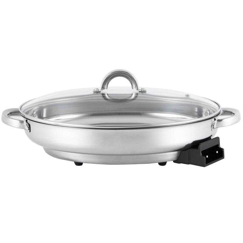 лучшая цена Electric frying pan GEMLUX GL-ER02