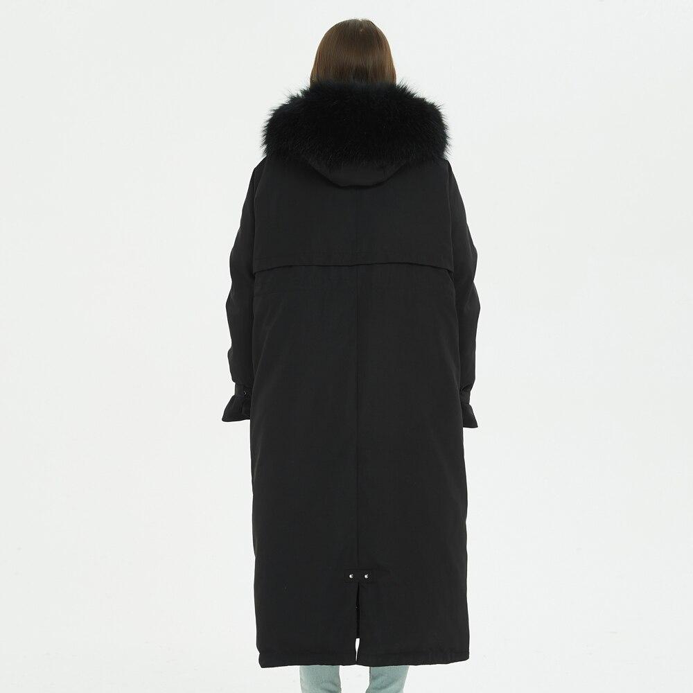 Mujer Veste 2 De 2018 Col D'hiver 3 Femelle Nouvelle Mujer2019 Laveur Abrigo Fourrure Camperas Manteau Doudoune Rallongent Réel Raton 1 Invierno daAxxH