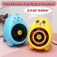 Офисный обогреватель в 400 Вт мини небольшой электрические обогреватели вентилятор дома 220 Теплее Электрический потепления сокровище синий/...