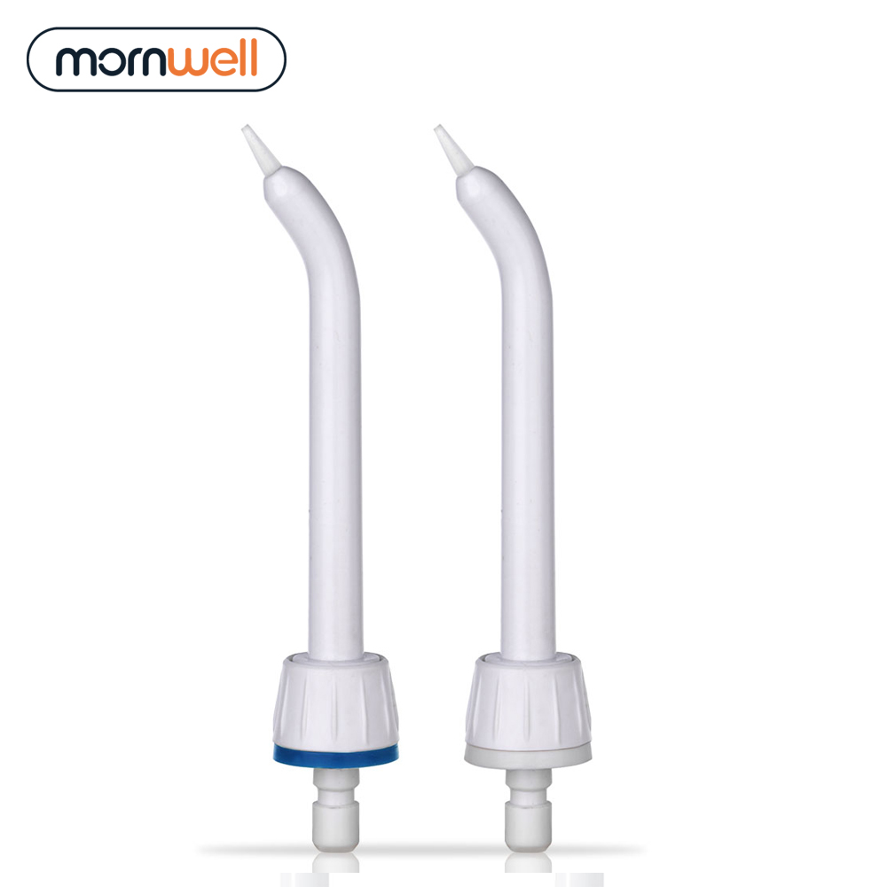 2 Periodontal Pocket Tips With Mornwell D50&D52 Water Flosser Oral Irrigator For Braces And Teeth Whitening