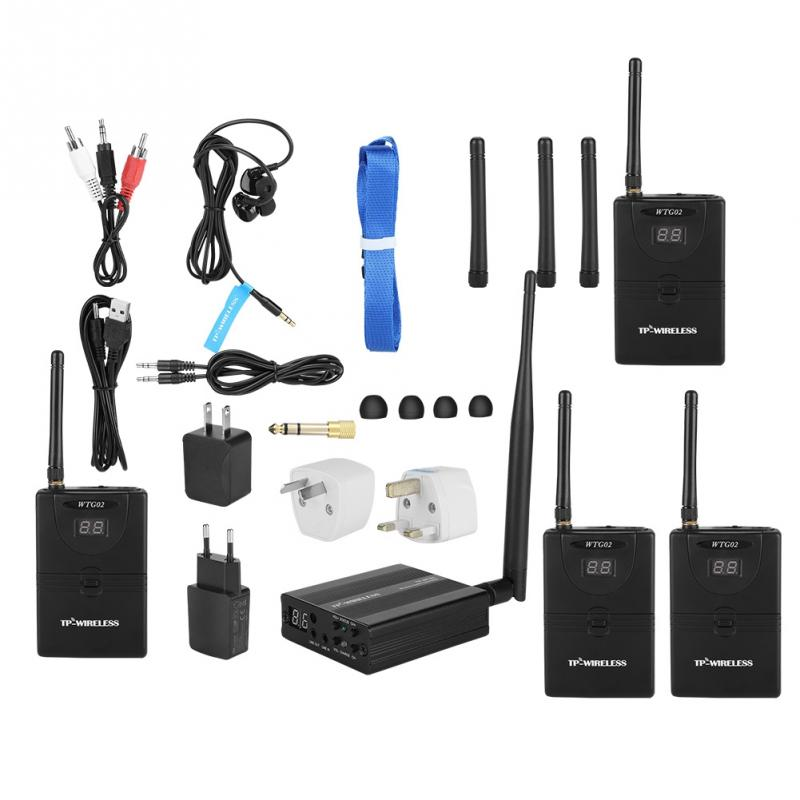 wireless in ear monitor system 2 4ghz professional digital in ear monitor on stage audio system. Black Bedroom Furniture Sets. Home Design Ideas