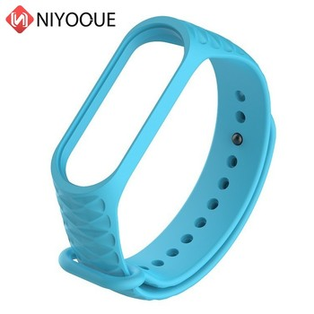 15pcs/lot Replacement Wrist Strap For Xiaomi Mi Band 3 4 5 Smart Band Bracelet Accessories Wristband For Mi Band Strap