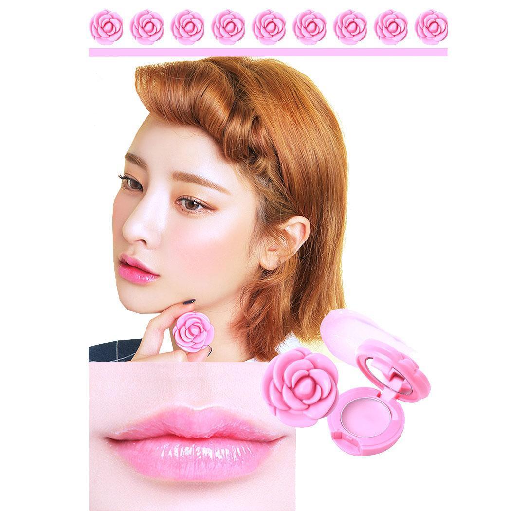 Beauty & Health Trend Mark Long Lasting Moisturizing Rose Shape Jelly 2cm/0.78 Inch Lipstick 3cm/1.18 Inch 3 Years 50g Beauty Essentials
