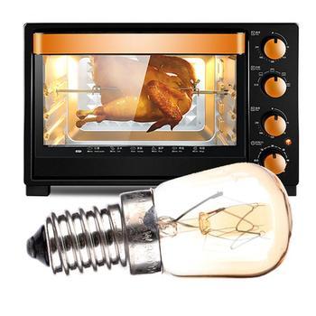 Wysoka temperatura 300 stopni celsjusza lampa światła piekarnik 220V-240V dla piekarnik gazowy piekarnik elektryczny czysty parowiec piekarnik parowy tanie i dobre opinie Jia guarantee CN (pochodzenie) 110-120lm 1000h Fluorescencyjna Indoor WHITE 2650kK 2700 k 90-260 v Rohs Celsius Oven Light Lamp