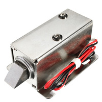 24v dc 0.8a fechadura elétrica conjunto solenóide armário fechadura da gaveta da porta