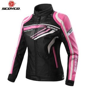 SCOYCO Women Motorcycle Jacket