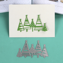 DUOFEN METAL CUTTING DIES Christmas tree lace hollow DIY Scrapbook Paper Album 2019 new