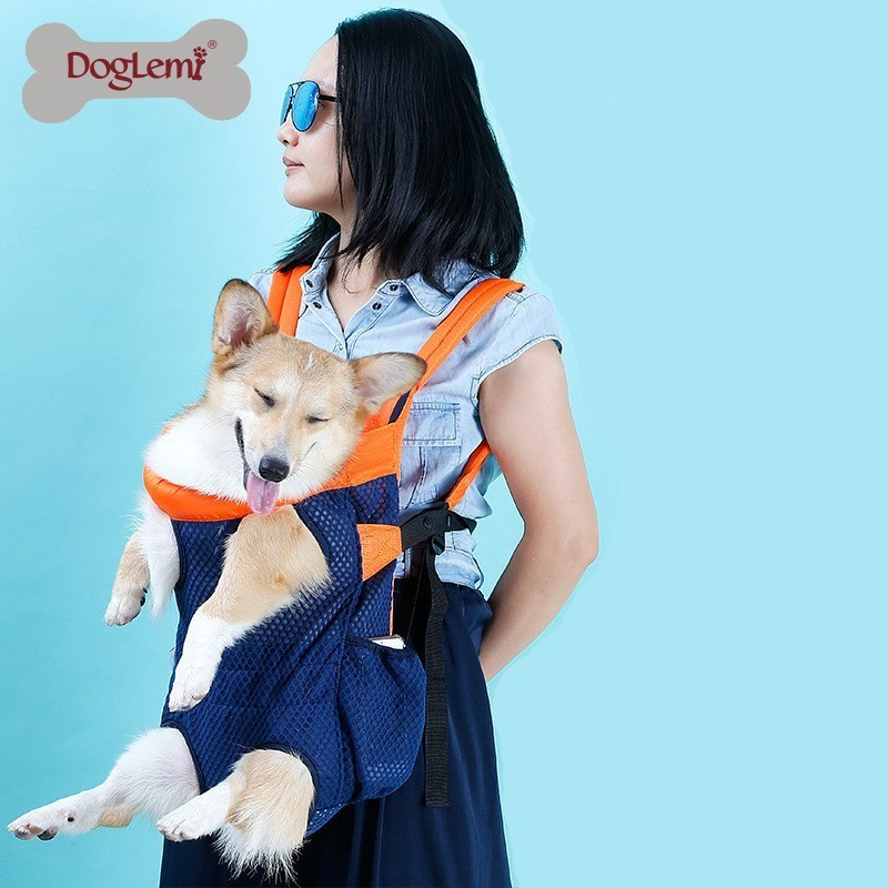Pet Dog Carrier Backpack Travel Shoulder Large Bags Carrier Front Chest Holder For Small Medium Puppy Chihuahua Pet Dogs in Dog Carriers from Home Garden