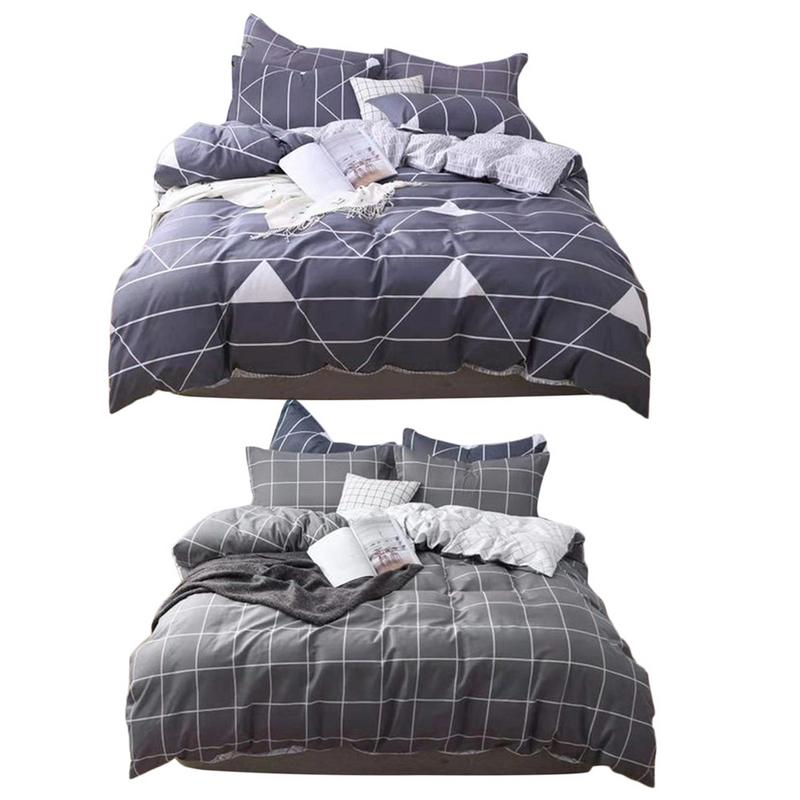 New 3PCS/Set Cotton Quilt Cover Soft Comfortable Safe Cover For Home Bed High-quality Fabrics Comfortable Bedding Set FashionNew 3PCS/Set Cotton Quilt Cover Soft Comfortable Safe Cover For Home Bed High-quality Fabrics Comfortable Bedding Set Fashion