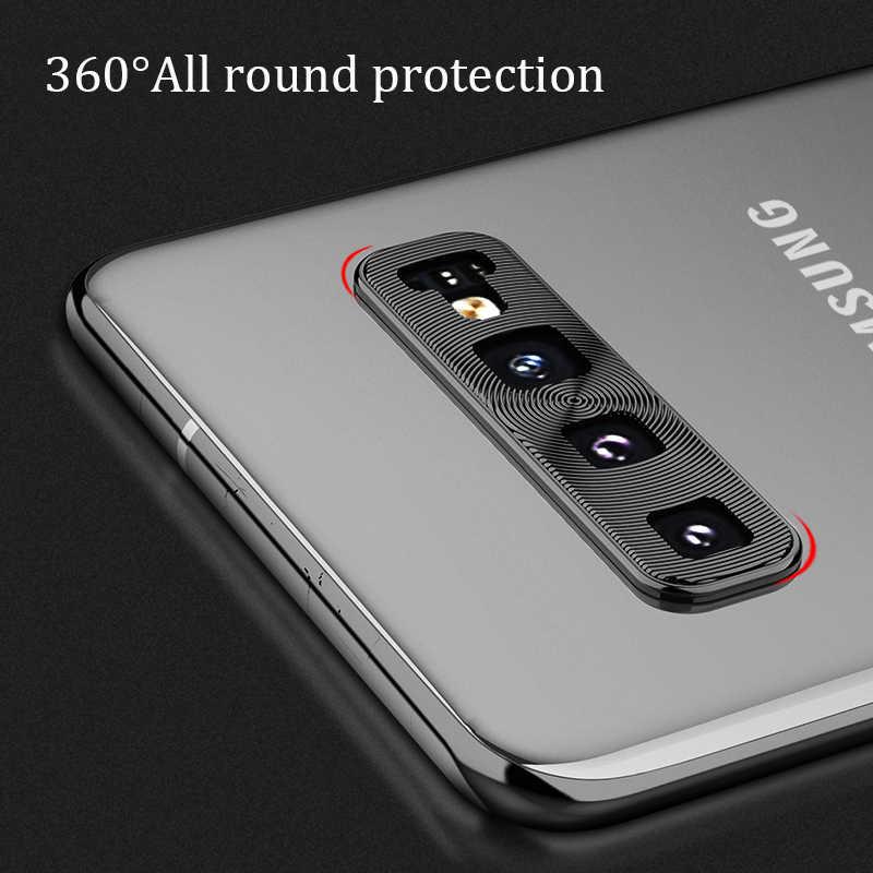 Защитное стекло для камеры для samsung Galaxy S10 Plus S10E Note 10, металлическая защита для объектива камеры, чехол для кольца
