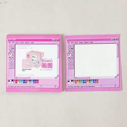 Креативный блокнот красочный свежий липкий блокнот удобный блокнот Post-it офис, школа, дом и т. д