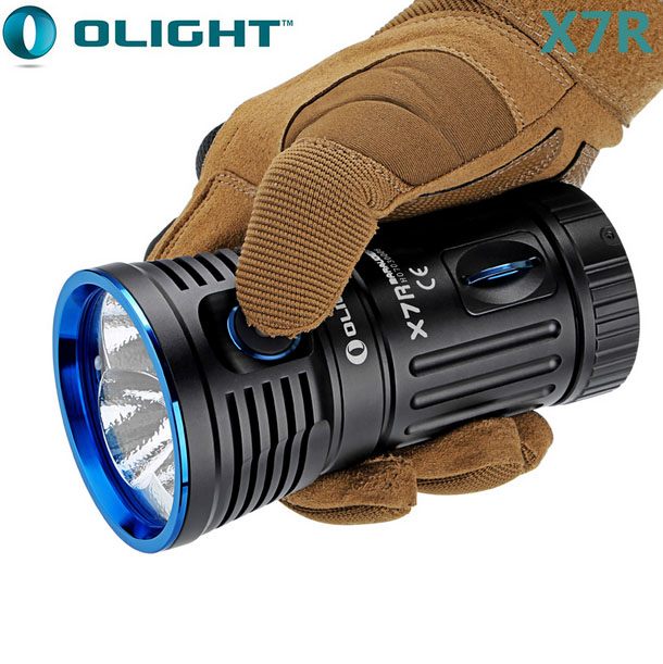 5 Years Warranty 12000LM Rechargeable Tcatical Flashlight Olight X7R Marauder
