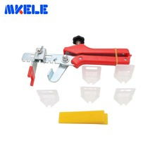 цены Tile Leveling System Wedges Clips Tile Leveling Pliers Tiling Locator Ceramic Tiles DIY Installation Measurement Tools