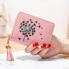 Women Wallets 2019 Small Leather Luxury Brand Zipper Mini Short Wallet Ladies Clutch Card Holder Carteras Mujer