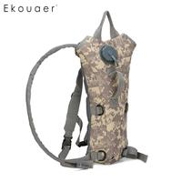 Hiking Camping 3L Water Bladder Bag Hydration System Pack Unisex Camouflage Water Tank Backpack