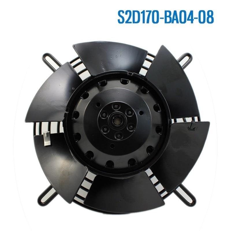 Ebm Papst S2D170-BA04-08 AC 230 ~ 400 V 0.09 ~ 0.19A 15 W 22 W 170X170mm roulement à billes ventilateur de refroidissement Axial