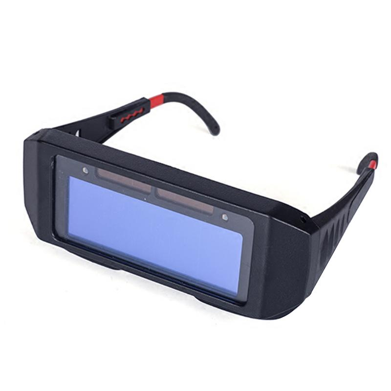 Solar Energy Automatic Light Variation Electric Welding Glasses Auto Darken