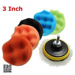 Image 5 - 7x 3567Buffing Sponge Polishing Pad Hand Tool Kit For Car Polisher Compound Polishing